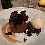 Spiced chocolate chiboust