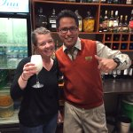 Bartender Alexander is the best there is. He'll even teach you how to make your own Pisco Sour!