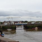 The Maryport Harbour,with its little boats,tide out,it makes you want to explore even on a Windy