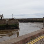View of Harbour,tide is out ,mind the edge.