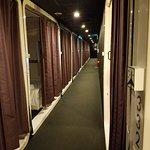 First Cabin hallway