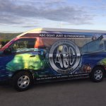 The ABC van to assist the accomodation of guests, if necessary.