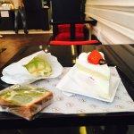 Cake + Melon pan + Fraisier , miam