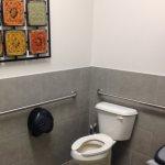 Very clean restrooms
