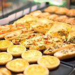 warme Snacks zum Mitnehmen oder hier essen