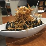 Mussels & frites, seafood chowder, lobster wontons....all are fantastic choices for the seafood