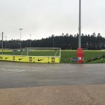 One of the outdoor pitches