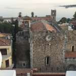 View over Taormina From Roof Top Terrace