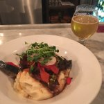 Flank steak and a beer