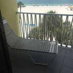 View from room 431 gulf view suite