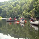 Two perfect summer activities; #cycling and #canoeing in the #WyeValley