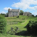 Hergest Court on #WyeValley #cyclingholiday in borders of #Wales