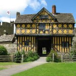 Stokesay Castle on our Shropshire Castles #cyclingholiday