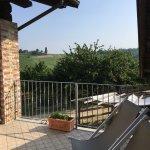 Terrace off Margherita suite