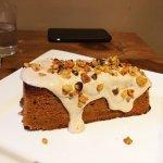 Carrot cake, chimichanga, ramen, buffalo cauliflower, chocolate pots