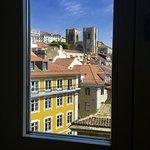 Vue sur la Cathédrale de Lisbonne