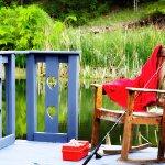 Two stocked fishing ponds & Cedar Creek on property