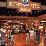 Find an inspirational new book or Library souvenir in Ruth's Attic Bookstore.