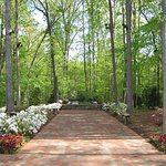 Take a walk or sit and reflect in the peaceful Prayer Gardens.