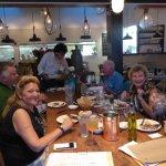 Our friends had a wonderful dinner here at Kipos Greek Taverna