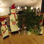 Snowmen in Restaurant bar (3 bars in all) 1 in Lounge and 1 in Pool/tv bar