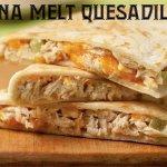 A twist on the traditional tuna melt!