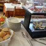 colazione: frutta e salato