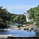 Inagh river, Falls Hotel