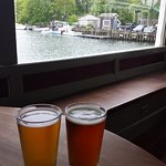 View from lunch at Captain Kidd's