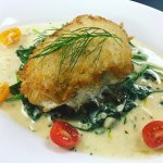 Pan Seared Potato crusted Florida Grouper
