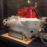 Woods Hole Oceanographic Institute exhibit