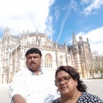 UNESCO World Heritage-listed Batalha Monastery, Portugal... on our way back from fatima