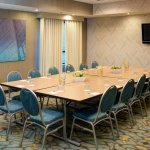 Our 450-square-foot Brentwood boardroom can comfortably accommodate up to 20 colleagues.