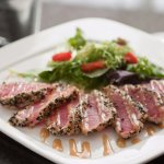 Seared Tuna - Marco Polo's Bar, Lounge & Restaurant at Viana Hotel & Spa