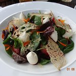 Cow Curd Salad - a George Blogg Special!