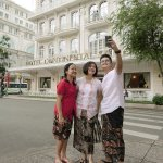Traveling with best friends in Saigon and staying in this beautiful Hotel Continental Saigon.