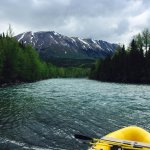 Kenai River ready for rafting