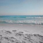 Our sugar white sand.