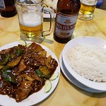 Beef Oyster Sauce & Rice /