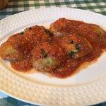 Ravioli with Meat Sauce