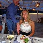 Top Manager Tasos on the working (restaurant) floor !!