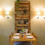 Restaurante El Jardín Meeting Point - comedor