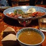 Very yummy lentil soup!