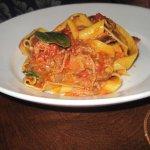 Pappardelle pasta with pork ragu
