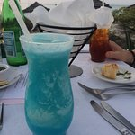 Delicious Blue Tropical Delight