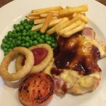 chicken New Yorker on the meal deal offer