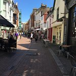 Quaint back streets of Old Town Hastings