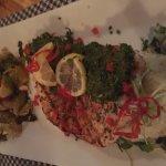 Swordfish with Chimichurri sauce