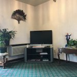 lobby, photo taken from comfy recliner chair