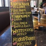 Great selection - all on draft!
